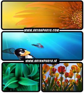مجموعه ای از والپیپرهای گوناگون با موضوع طبیعت + WallPaper