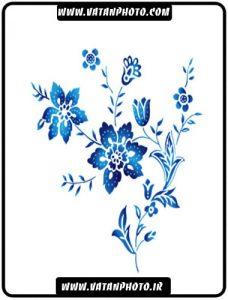 طرح جذاب از گل بسیار زیبا به طور لایه باز+ psd