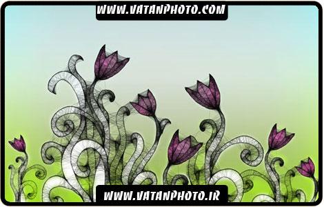براش گل های بسیار جذاب و فانتری با کیفیت
