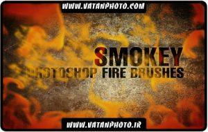 براش دود و شعله های آتش با کیفیت بالا