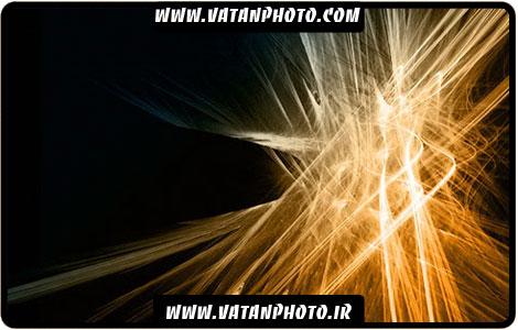 براش نور خیره کننده براق برای کارهای گرافیکی