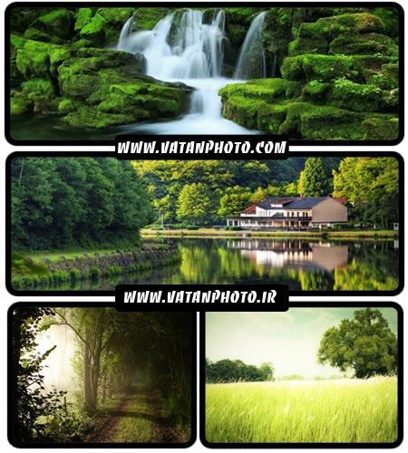 عکس های بسیار با کیفیت از طبیعت سر سبز + HD