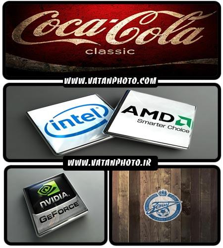 مجموعه عکس از انواع لوگو ها و محصولات شرکت ها+ HD