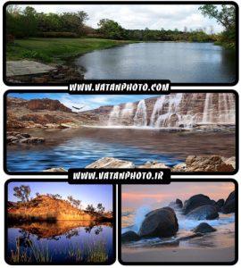 عکس دریا و آبشار در مجموعه عکس های طبیعت + HD