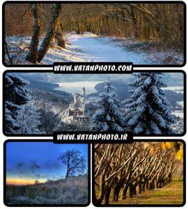 عکس های طبیعت در فصول گوناگون با کیفیت HD