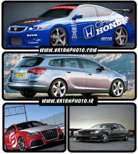 عکس های با کیفیت و جذاب از انواع اتومبیل+ HD