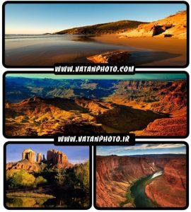 عکس های جذاب از کوهستان های خاکی و شنی+ HD