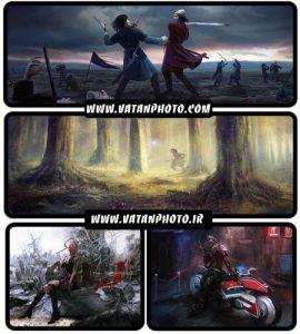 عکس های گرافیکی از بازی های کامپیوتری با کیفیت بالا+ HD