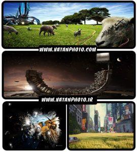 مجموعه عکس های گرافیکی و سه بعدی با کیفیت بالا+ HD