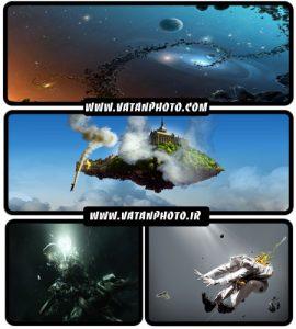 عکس های گرافیکی و فانتزی با کیفیت بالا + HD