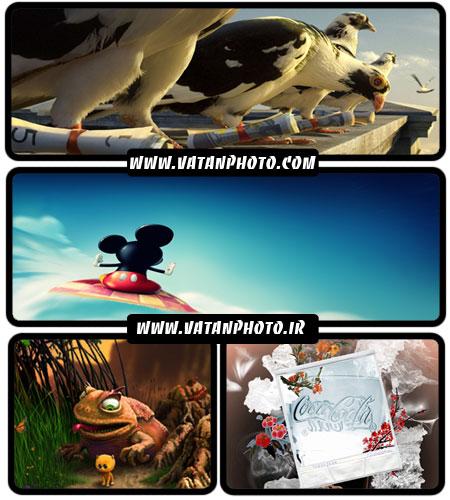 مجموعه عکس های فانتزی و کارتونی با کیفیت بالا+ HD
