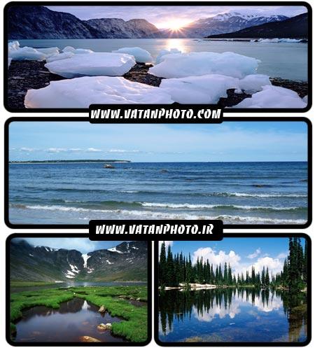 عکس های با کیفیت از دریا و دریاچه ها در سایز HD