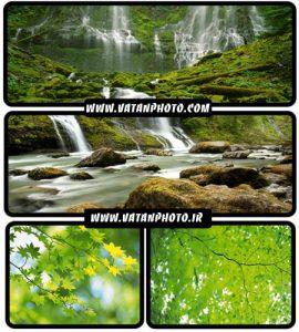 عکس طبیعت سرسبز و آبشار های زیبا با کیفیت بالا+ HD