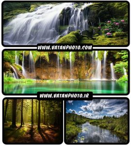 عکس های فوق العاده جذاب از طبیعت های سرسبز و آبشار+HD