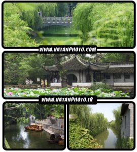 عکس های با کیفیت از جاده های سرسبز و نمای خانه ها در ژاپن+ HD