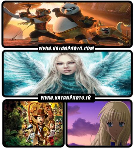 عکس های فانتزی و شخصیت های کارتونی با کیفیت بالا+ HD