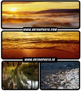 عکس های زیبا از غروب و ساحل بسیار جذاب و با کیفیت+ HD