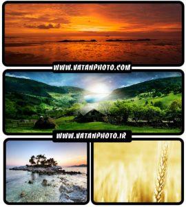 عکس های جذاب از طبیعت گرافیکی با کیفیت بسیار بالا+HD