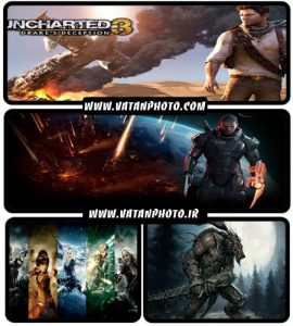عکس های بسیار با کیفیت بازی های رایانه ای+ HD