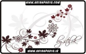 براش جذاب و زیبای گل ها برای فتوشاپ