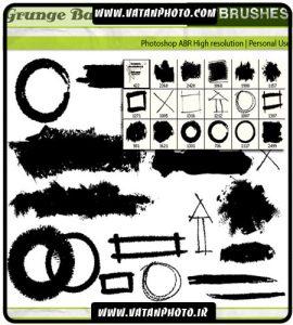 براش با کیفیت دایره ای و مربع برای کارهای گرافیکی