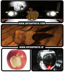 عکس های گرافیکی از لوگو های اپل +HD