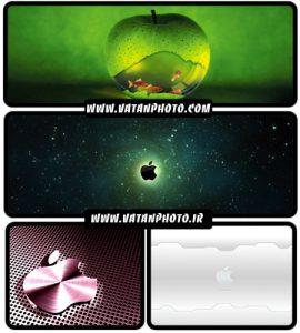 عکس های با کیفیت از لوگوهای اپل+ HD