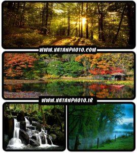 عکس های بسیار جذاب از طبیعت سرسبز با کیفیت HD