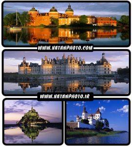 مجموعه عکس های بسیار جذاب از نمای خارجی قلعه ها+ HD