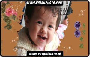 طرح لایه باز پروژه آتلیه عکس کودک
