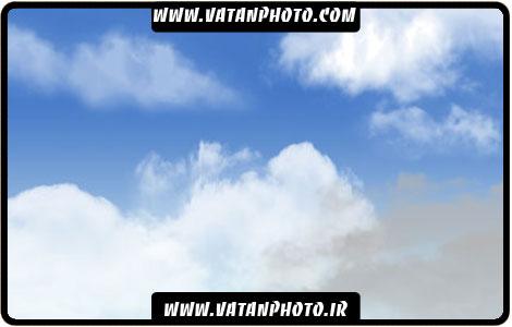 براش بسیار طبیعی از ابر ها برای کارهای گرافیکی
