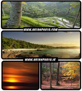 عکس های خیره کننده از طبیعت در فصل های گوناگون+HD
