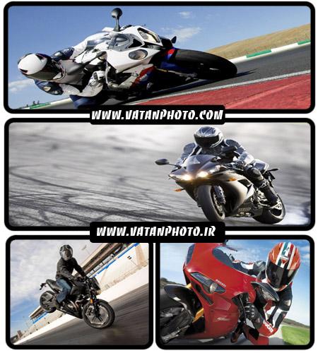 عکس های موتور مسابقه ای در پیست مسابقه+ wallpaper