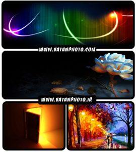 عکس های بسیار جذاب از نور با کیفیت بالا+ wallpaper