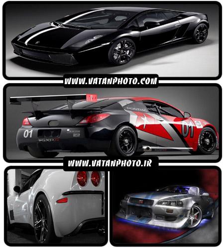 عکس های بسیار گرافیکی از اتومبیل های جذاب+ wallpaper