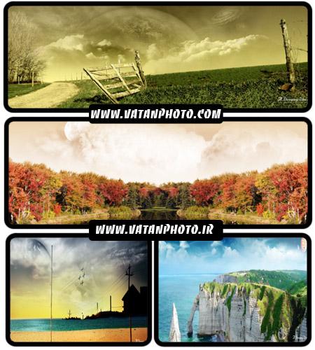 عکس های طبیعت گرافیکی با کیفیت بسیار بالا+ wallpaper
