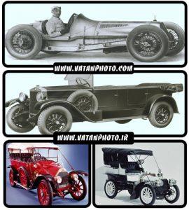 عکس اتومبیل های قدیمی و اولیه با کیفیت بالا+ wallpaper