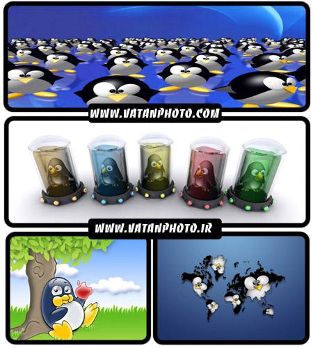 عکس های تبلیغاتی لینوکس سری دوم+ wallpaper
