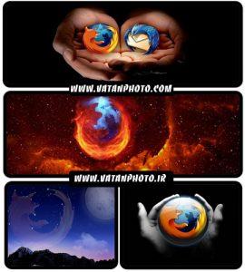عکس های تبلیغاتی مرورگر فایرفاکس سری اول+ wallpaper