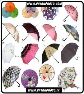 مجموعه آیکن چترهای فانتزی
