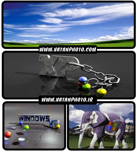 عکس های تبلیغاتی جذاب برای ویندوز اکس پی+ wallpaper