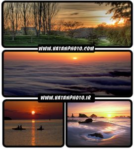 عکس های بسیار با کیفیت از طلوع و غروب خورشید+ wallpaper HD