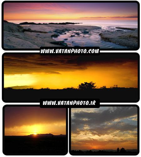 مجموعه 20 عکس با کیفیت از غروب خورشد+ wallpaper HD