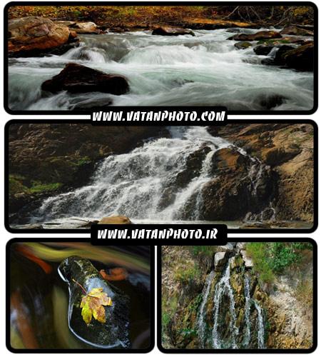 مجموعه 24 عکس از کوهستان ها و آبشار+ wallpaper HD