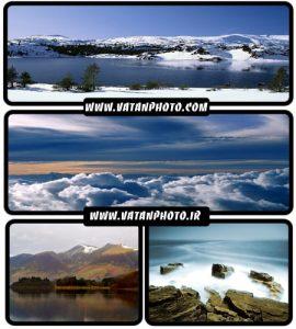 25 عکس از کوهستان در فصول مختلف+ wallpaper HD
