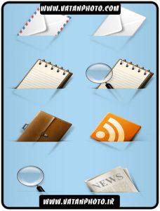 18 آیکن فوق العاده کاربردی در طراحی وب با فرمت PNG