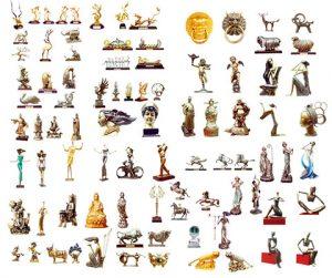مجموعه المان های مجسمه