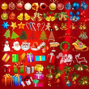 مجموعه آیکن کریسمس