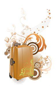 بکگراند کارت ویزیت فروشگاه کیف و چمدان