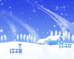 طرح گرافیکی زمستان برای مهدکودک
